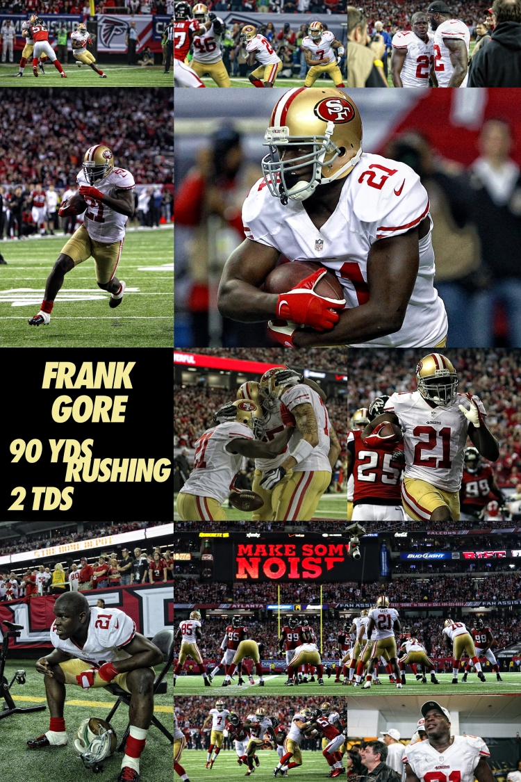 Frank Gore NFC Championship Game